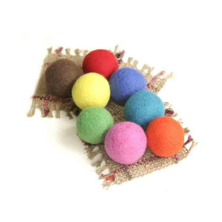 large felt balls 1