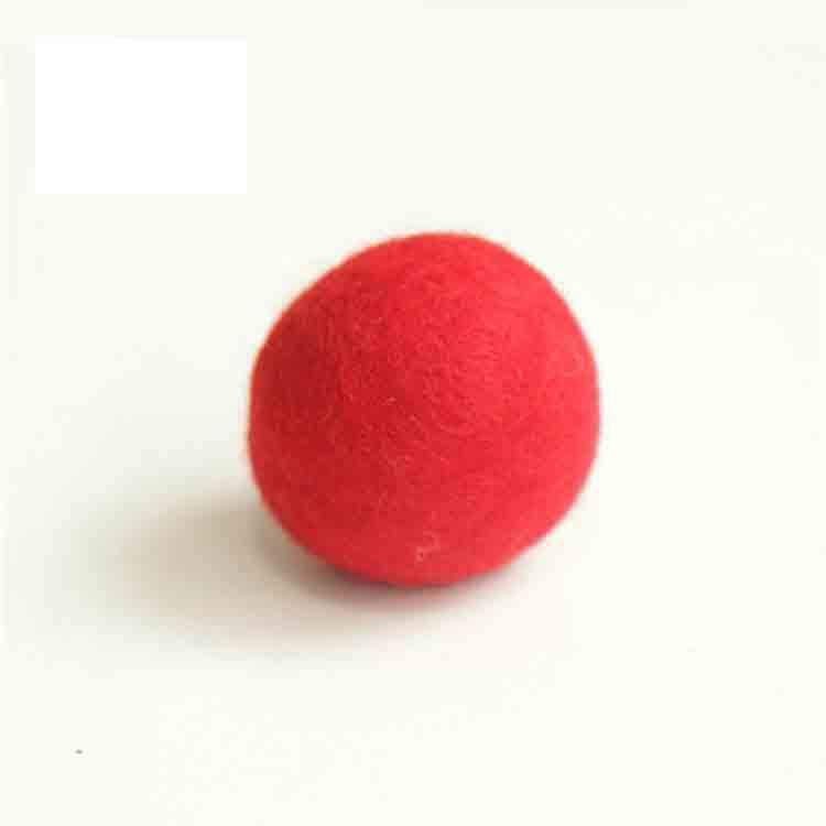 large felt balls 5