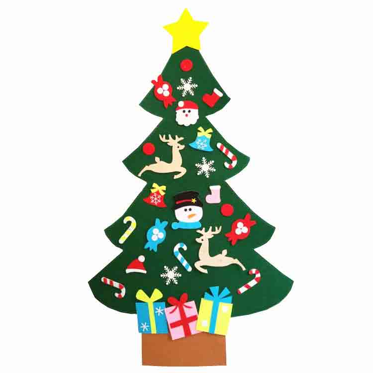 large felt christmas tree 1