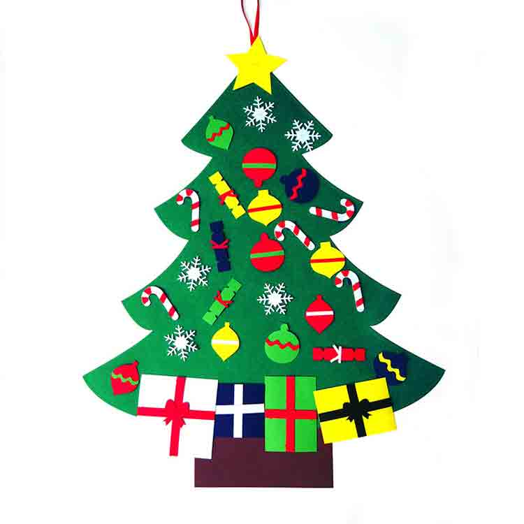 large felt christmas tree 2