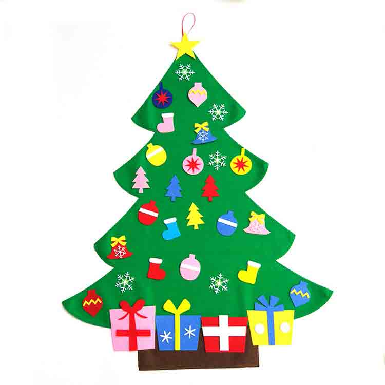 large felt christmas tree 3