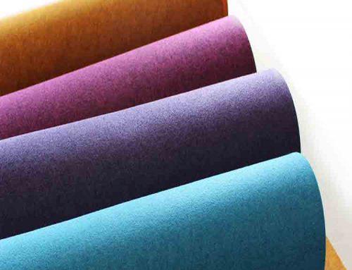 netkaný textil
