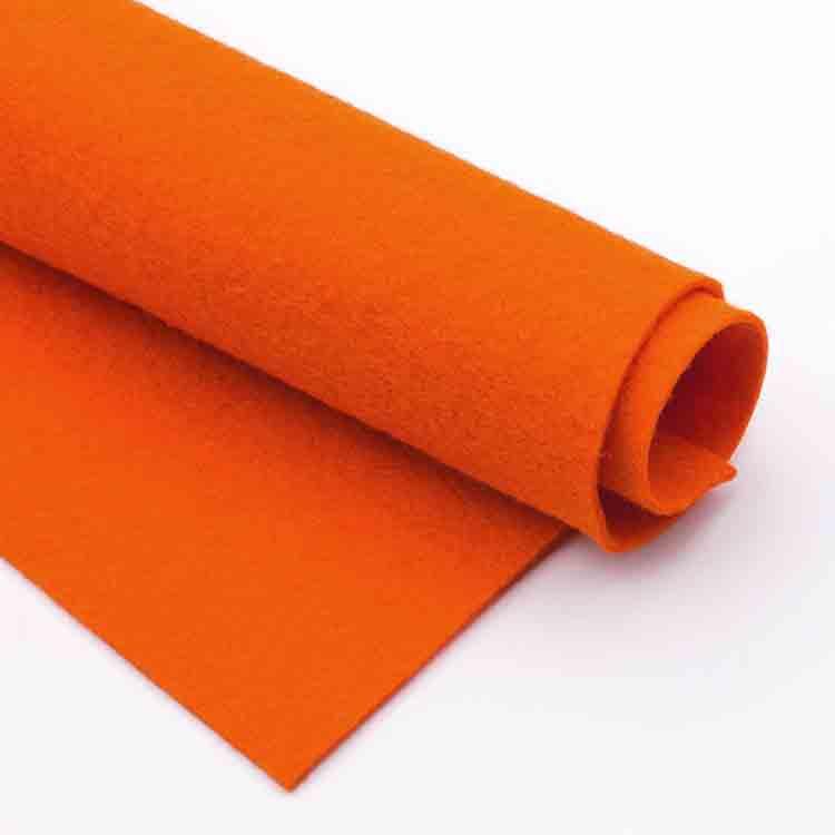 oranžová plsť