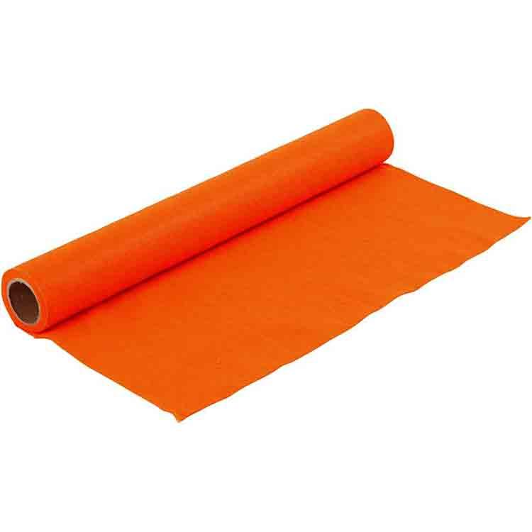oranžová plsť 4