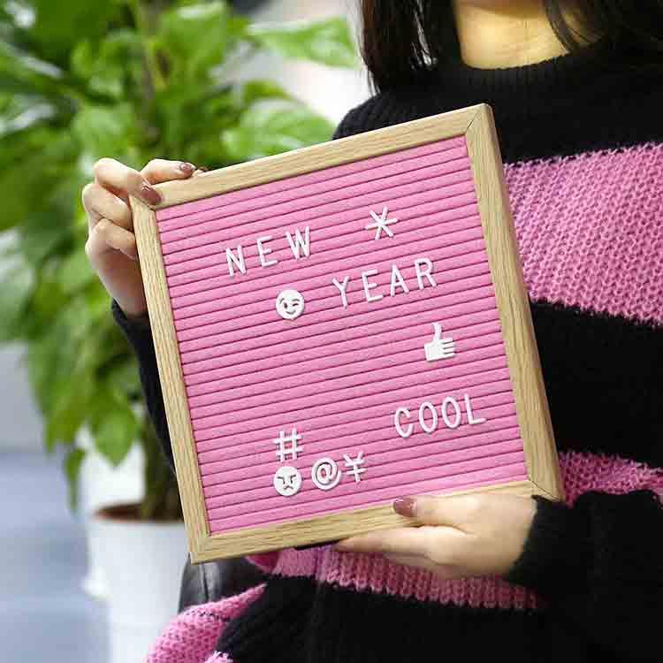 ružová plsťová tabuľa 3
