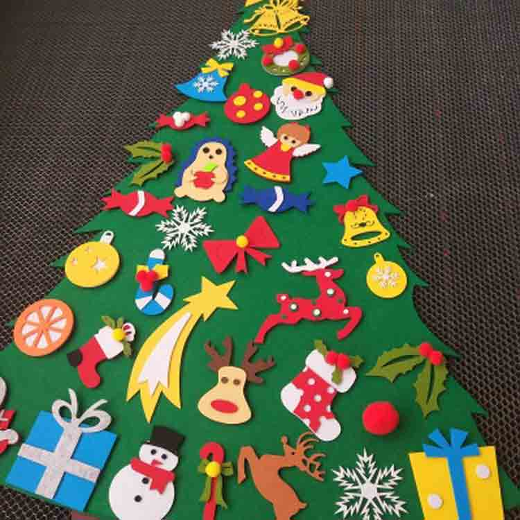 wall hanging felt christmas tree 4