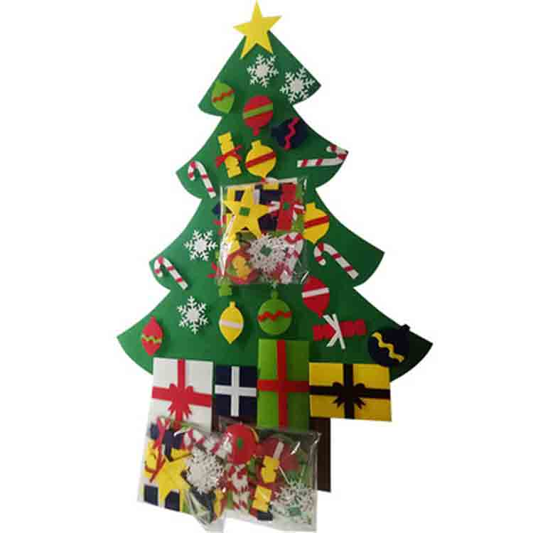 wall hanging felt christmas tree 5