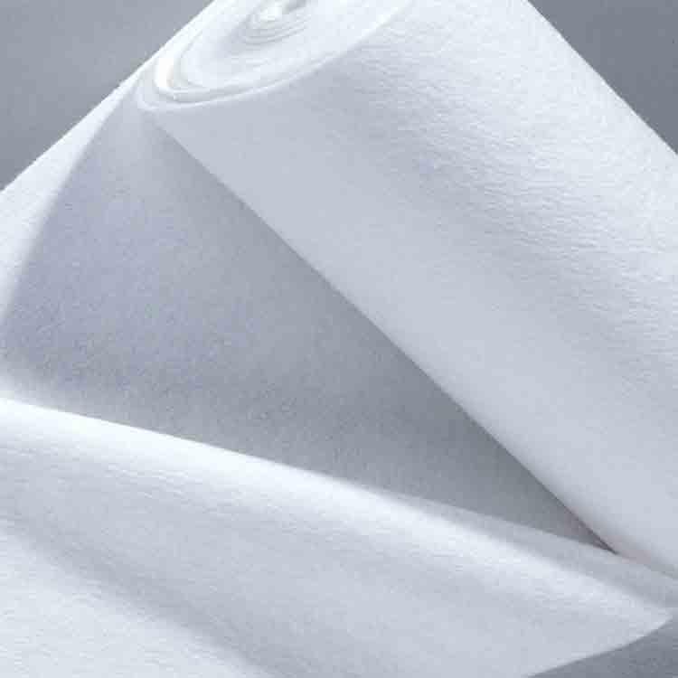 white felt fabric