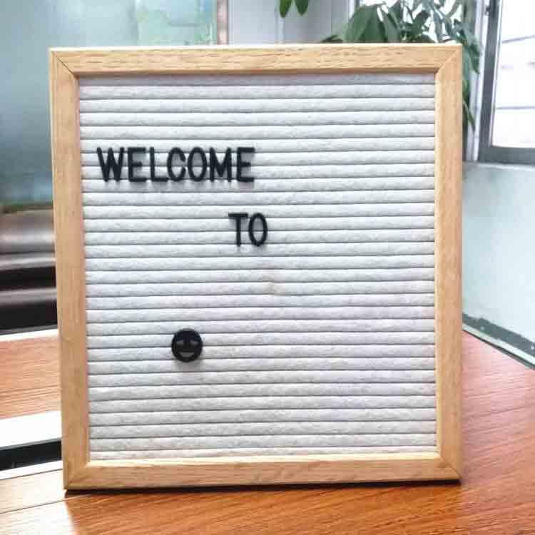white felt letter board 4