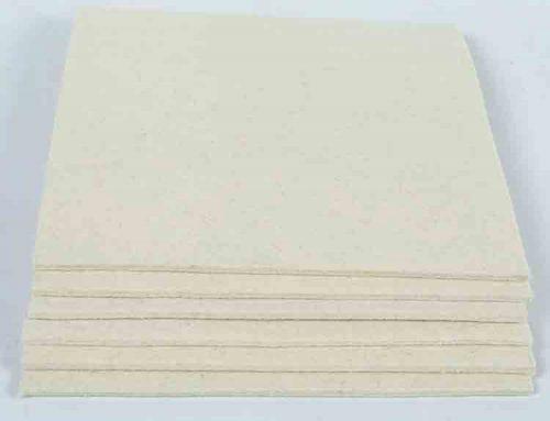 wool horse pad