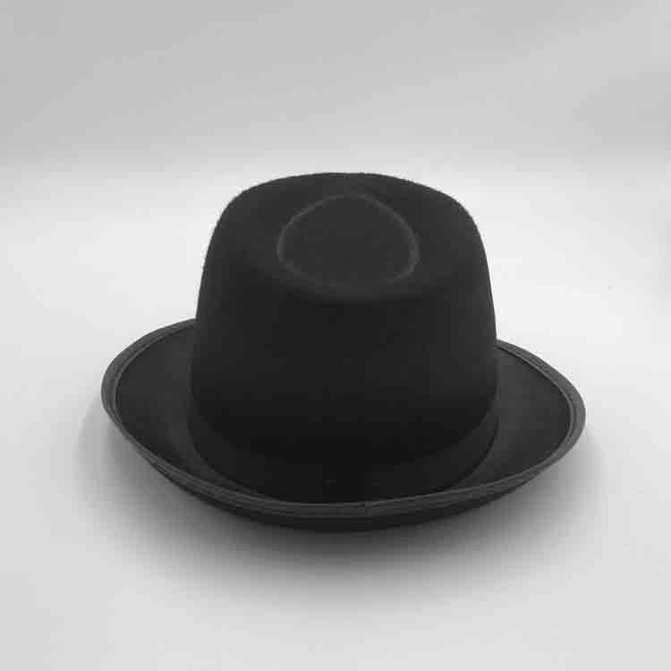 black felt cowboy hat 1