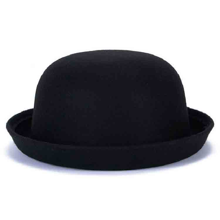 black felt top hat 1