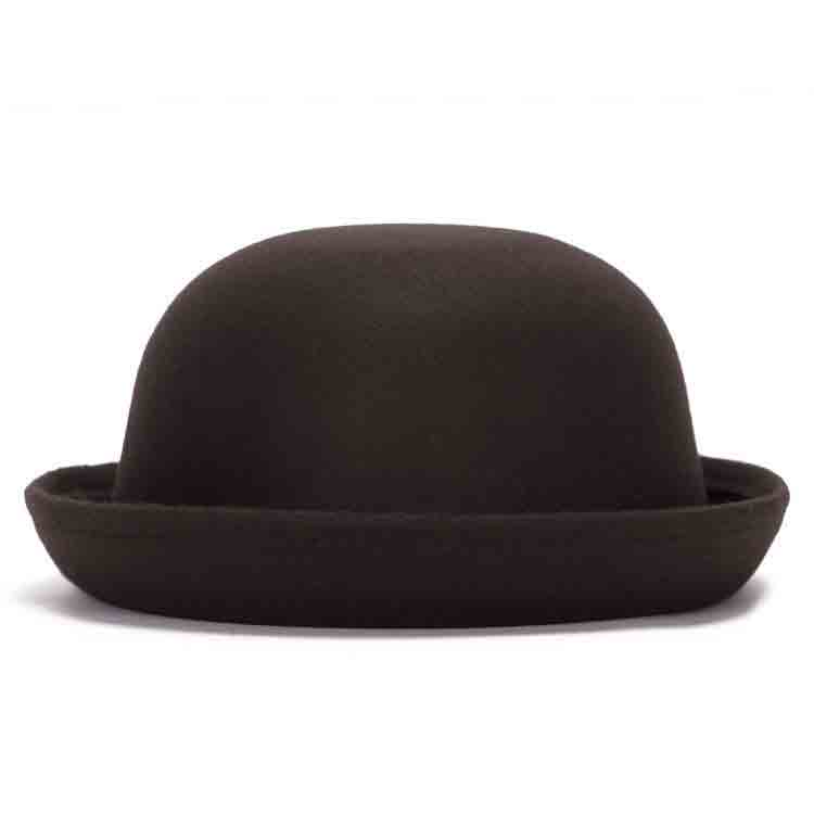 black felt top hat 2