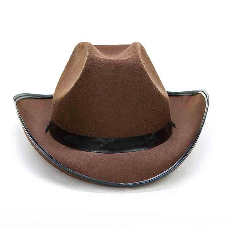 brown felt cowboy hat 2