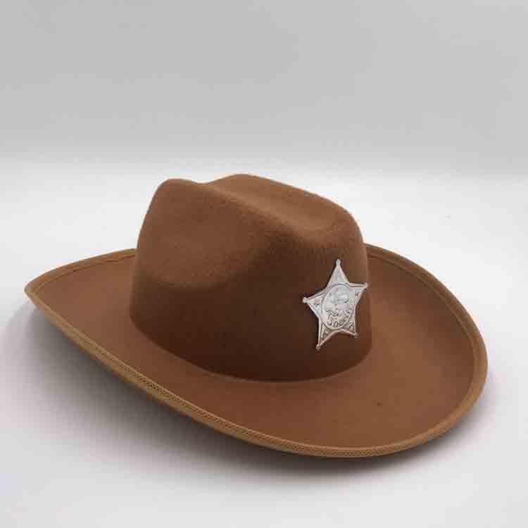 brown felt cowboy hat 4