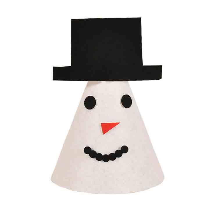 felt christmas hat 1