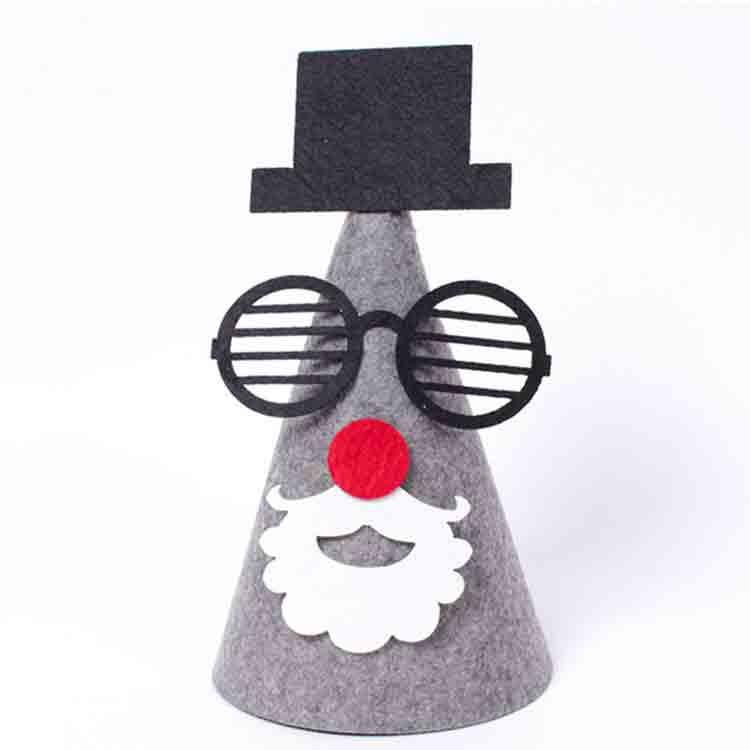 felt christmas hat 2