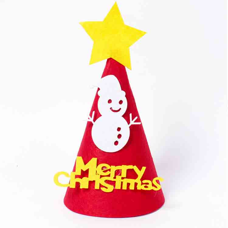 felt christmas hat 3