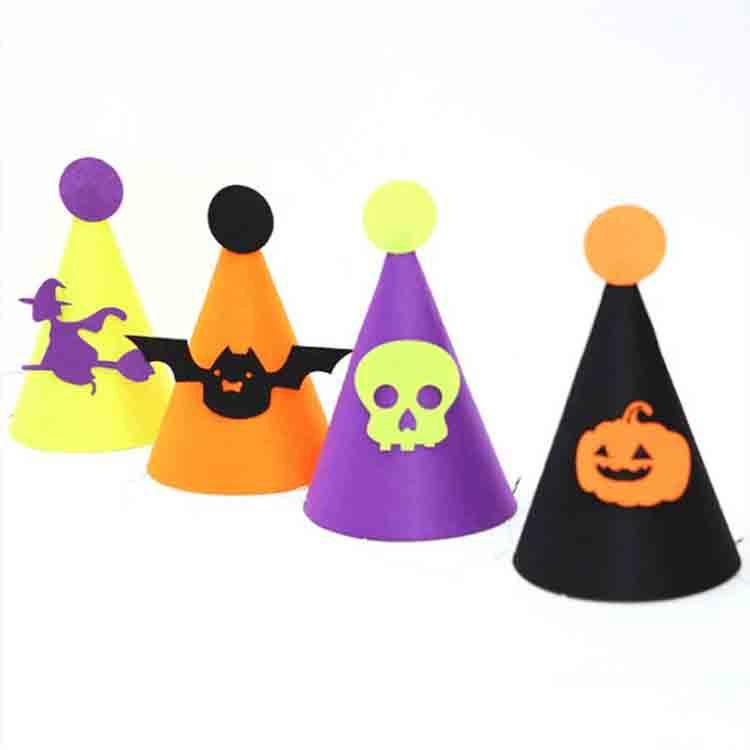 felt halloween hats