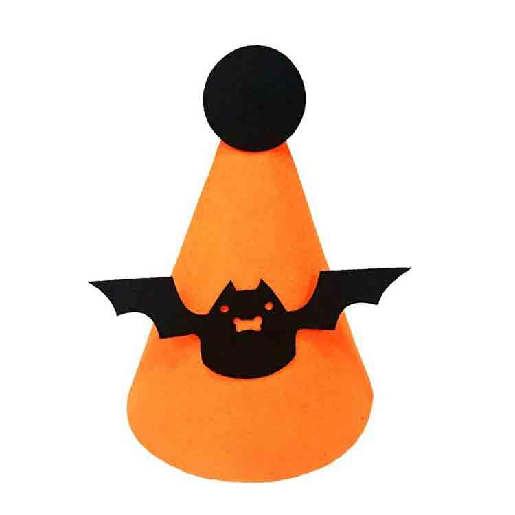 felt halloween hats 3