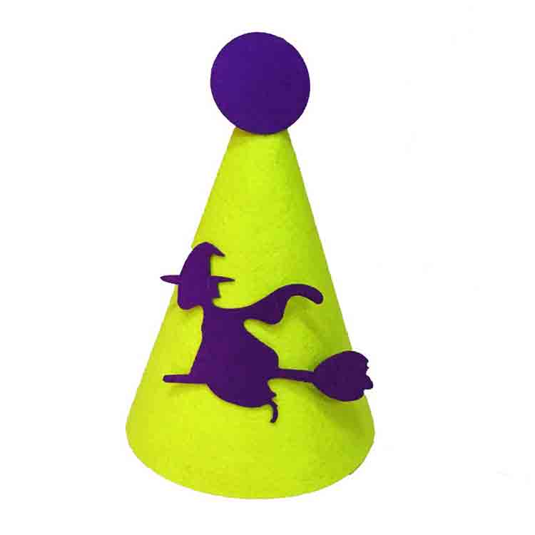 felt halloween hats 4