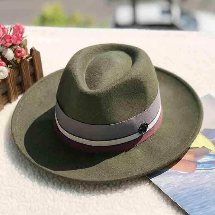 green felt hat 4