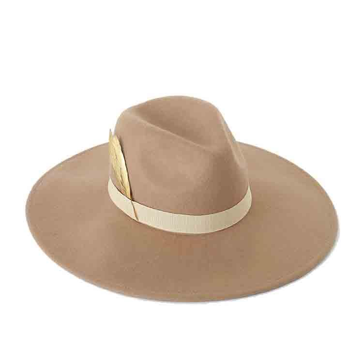 grey felt cowboy hat 1