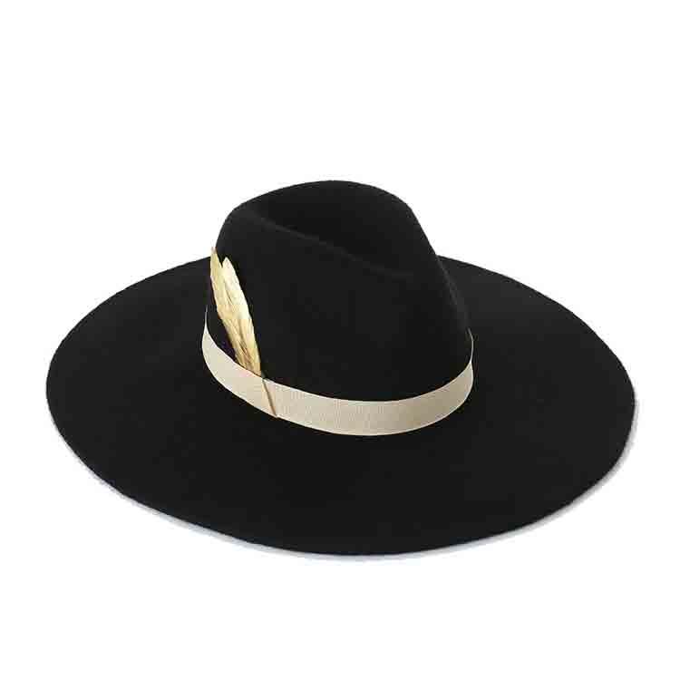 grey felt cowboy hat 2