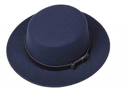 hard felt hat
