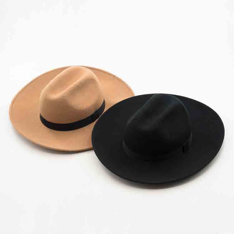 pink felt hat 1