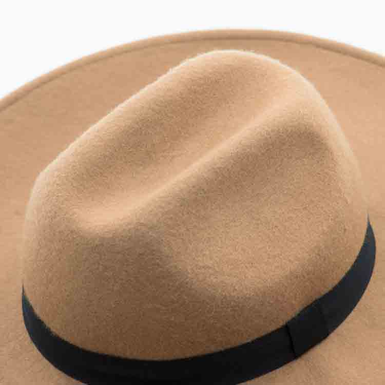 pink felt hat 5