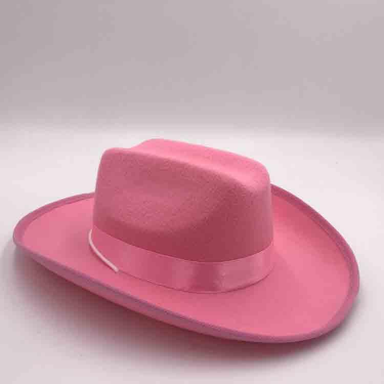 red felt cowboy hat 4