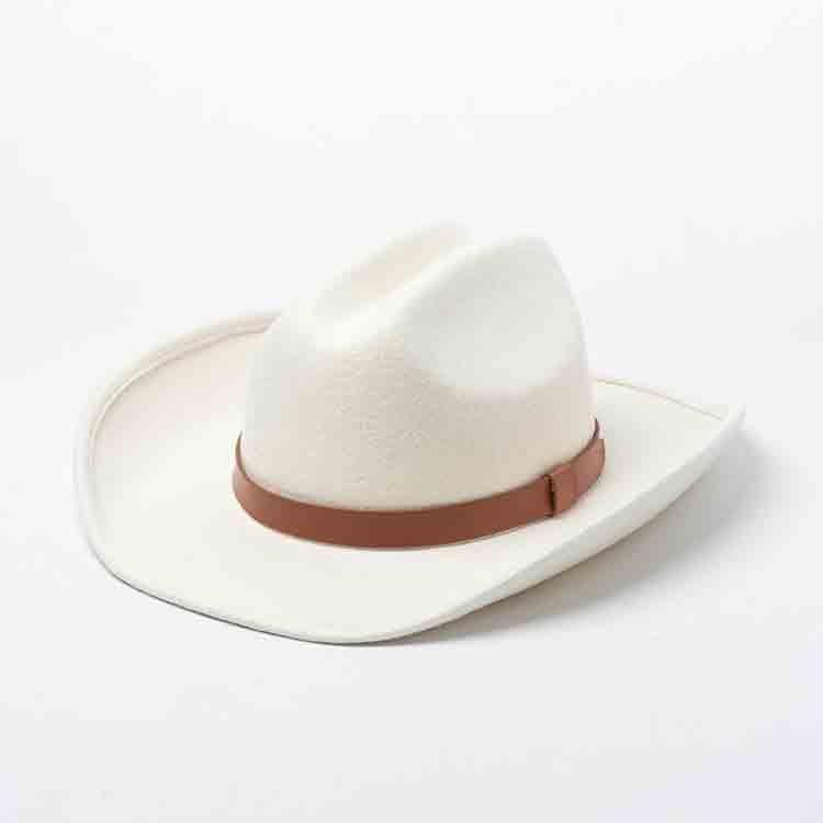 white felt cowboy hat 4