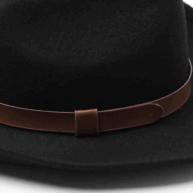 wide brim felt cowboy hat 2