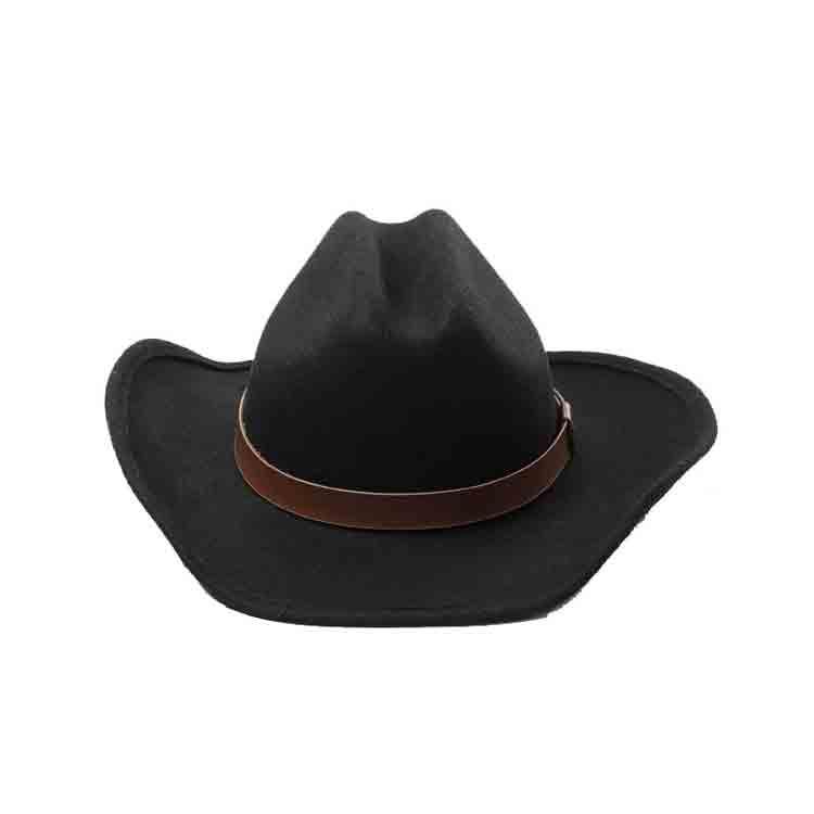wide brim felt cowboy hat 3