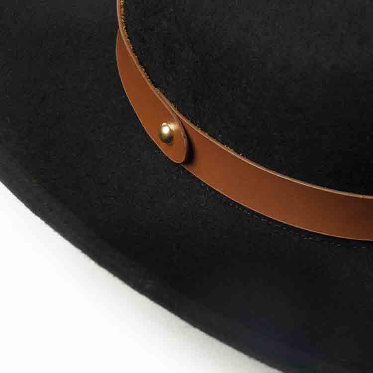 wide brim felt cowboy hat 5