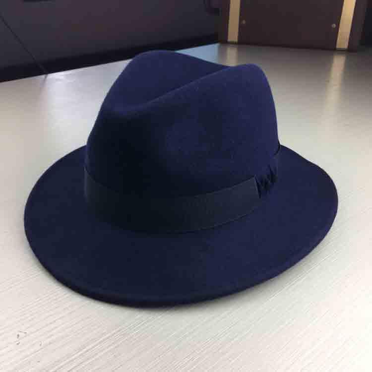 wool felt fedora hat 2