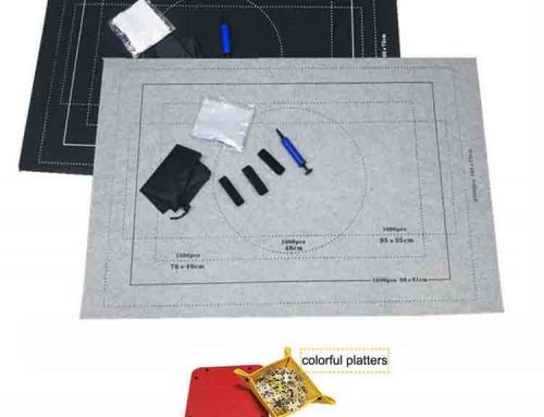 jigsaw puzzle storage mat